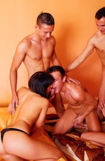 Bisex Creampie Orgy #03 Picture