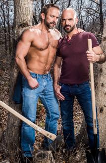 Adam Russo & Dirk Caber Picture