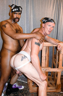 Bareback Interracial Picture